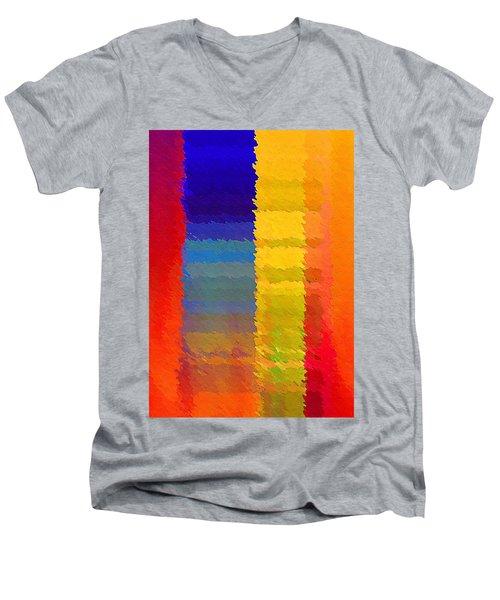 D N A Men's V-Neck T-Shirt