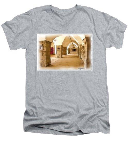Do-00324 Beiteddine Gallery Men's V-Neck T-Shirt