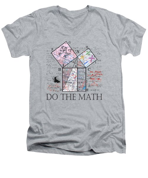 Do The Math Men's V-Neck T-Shirt