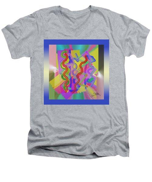 Do Thetwist  Men's V-Neck T-Shirt