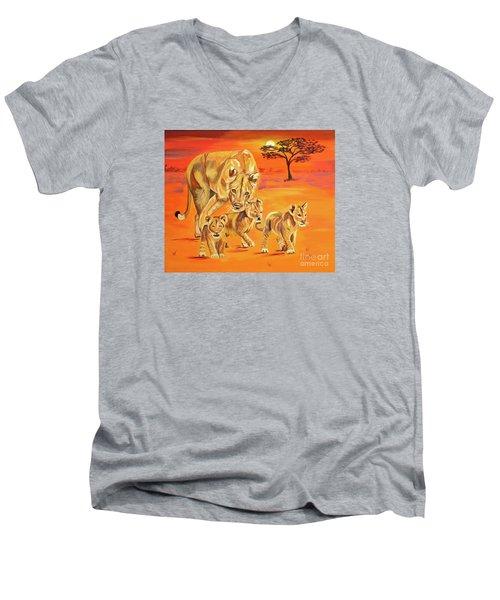 Do What Mom Says Men's V-Neck T-Shirt