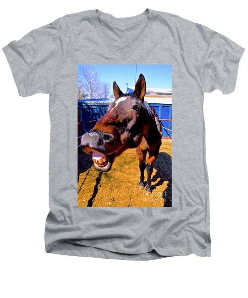 Do You Have A Treat For Me? Men's V-Neck T-Shirt
