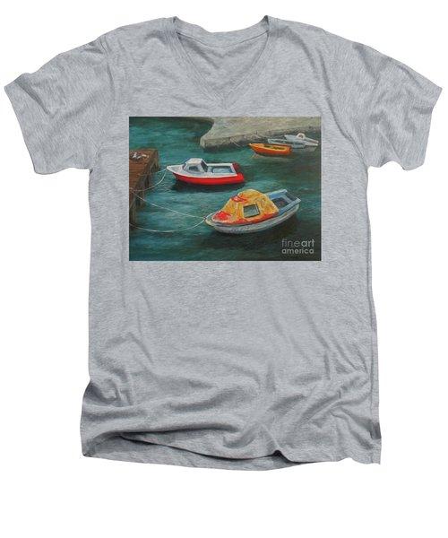 Docked Men's V-Neck T-Shirt