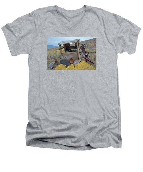 Dodge Brothers Pickup Men's V-Neck T-Shirt