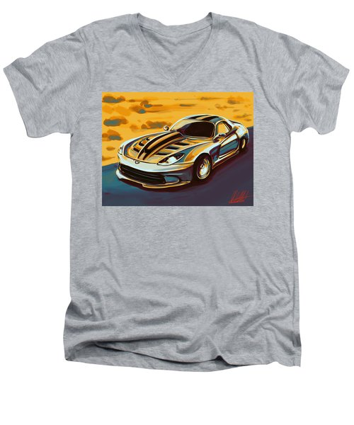 Dodge This Men's V-Neck T-Shirt