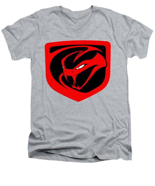 Dodge Viper Men's V-Neck T-Shirt