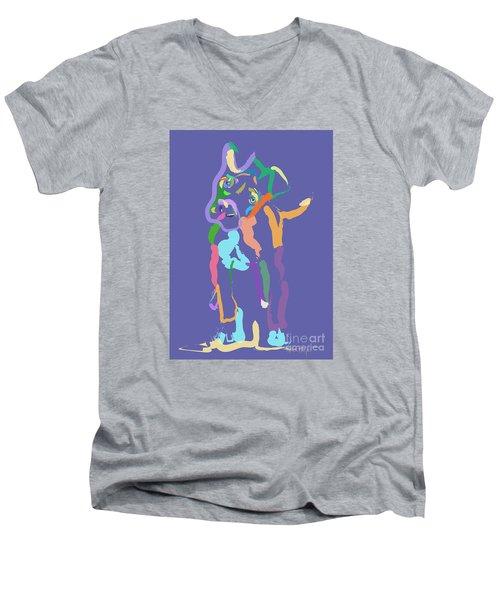 Dog Cookie Men's V-Neck T-Shirt