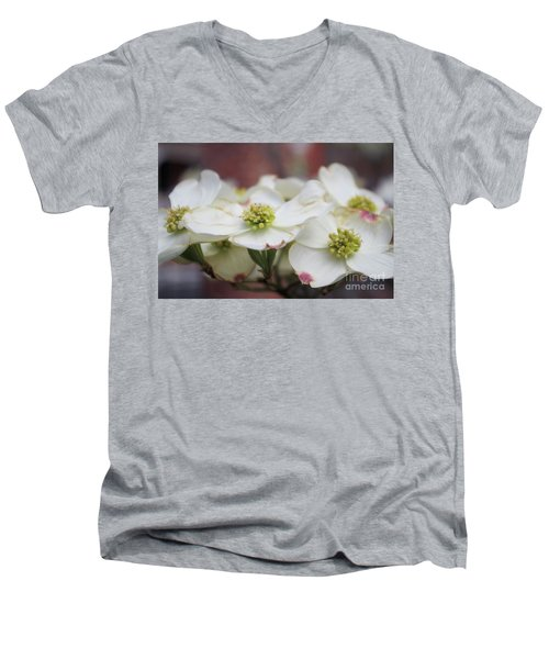 Dogwood Flowers Men's V-Neck T-Shirt