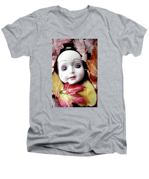 Doll Men's V-Neck T-Shirt