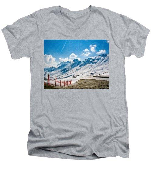 Dolomites 3 Men's V-Neck T-Shirt