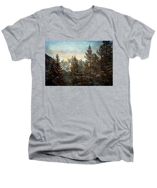 Dolomiti Men's V-Neck T-Shirt