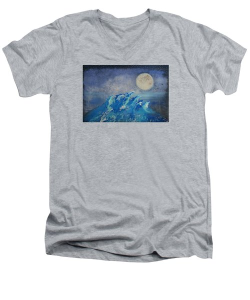 Dolphin Dreams Men's V-Neck T-Shirt