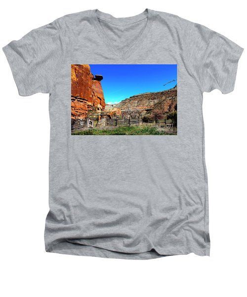 Dominguez Escalante Canyon Colorado II Men's V-Neck T-Shirt