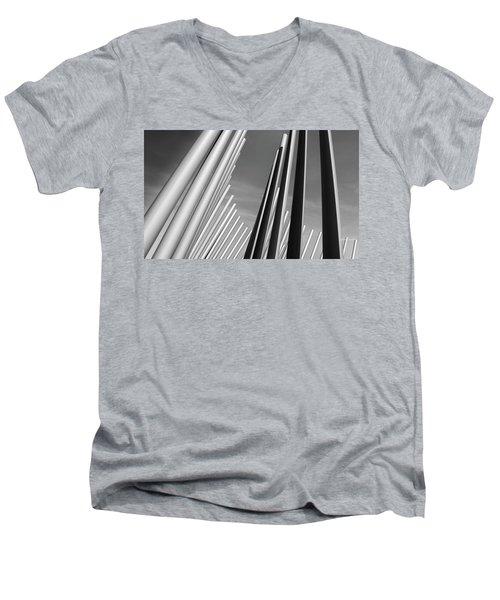 Domino Effect Men's V-Neck T-Shirt
