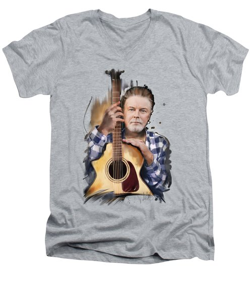 Don Henley Men's V-Neck T-Shirt