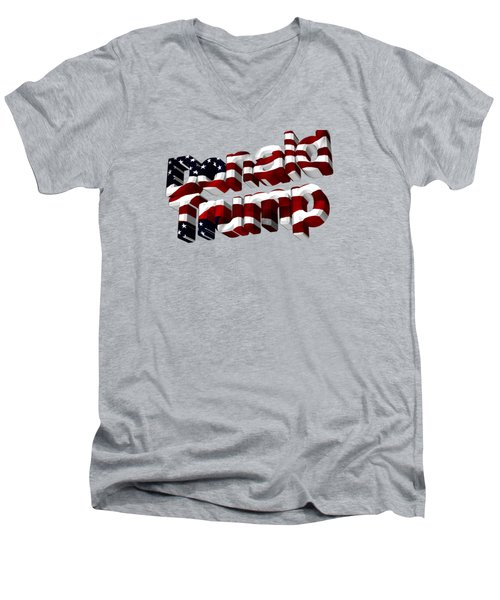 Donald Trump Men's V-Neck T-Shirt