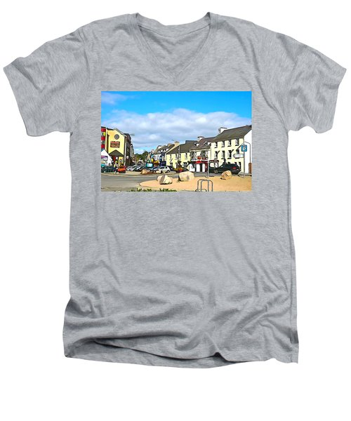 Donegal Town Men's V-Neck T-Shirt