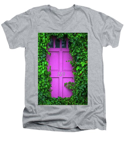 Door 229 Men's V-Neck T-Shirt by Darren White
