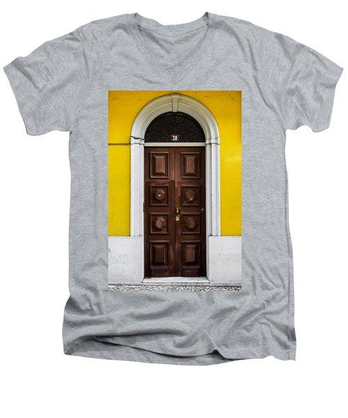 Door No 20 Men's V-Neck T-Shirt