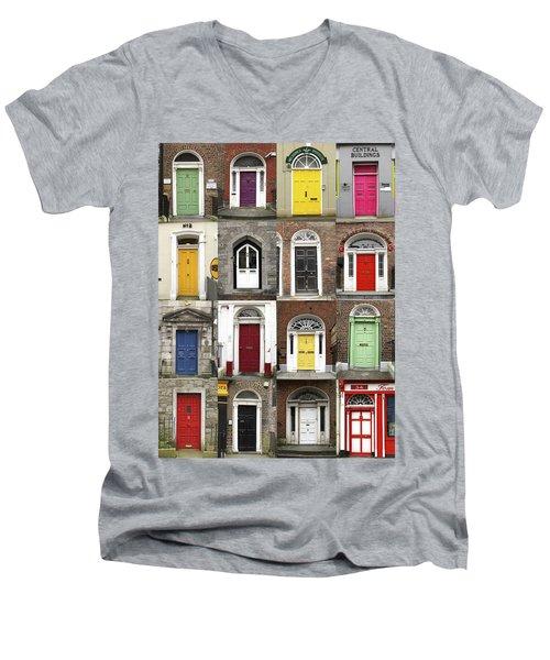 Doors Of Limerick Men's V-Neck T-Shirt