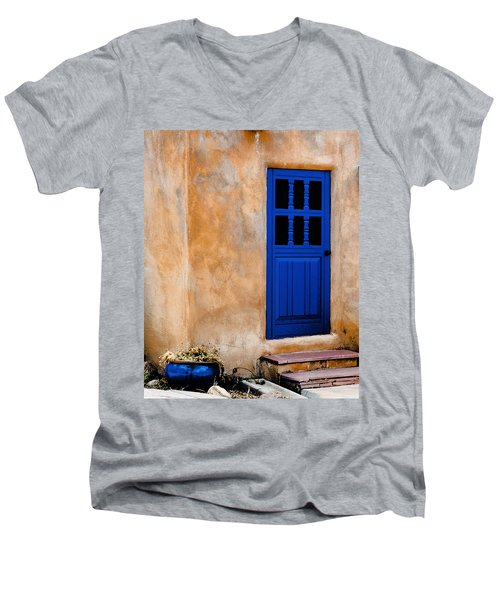 Doors Of Taos Men's V-Neck T-Shirt