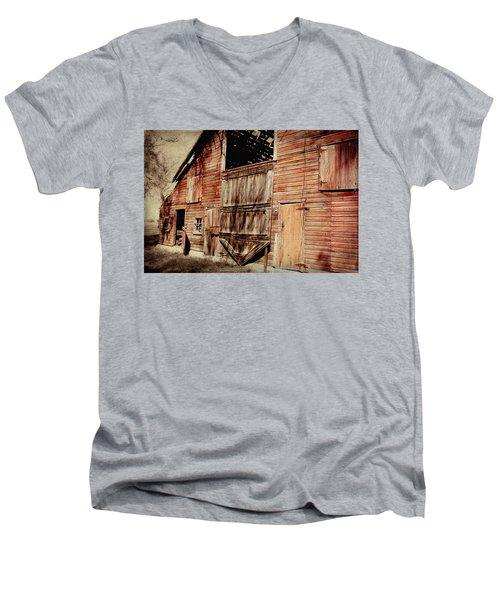 Doors Open Men's V-Neck T-Shirt by Julie Hamilton