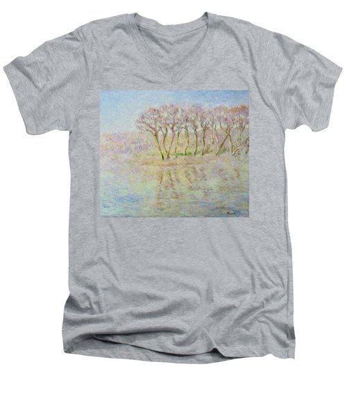 Dordogne, Beynac Et Cazenac Men's V-Neck T-Shirt