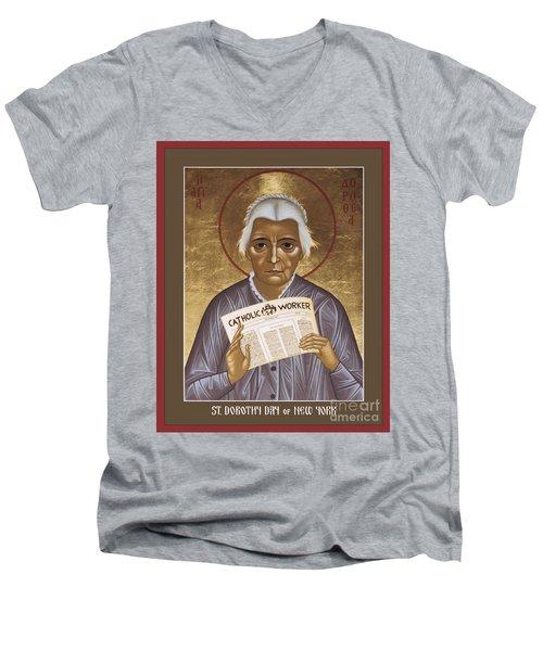 Dorothy Day Of New York - Rldrd Men's V-Neck T-Shirt