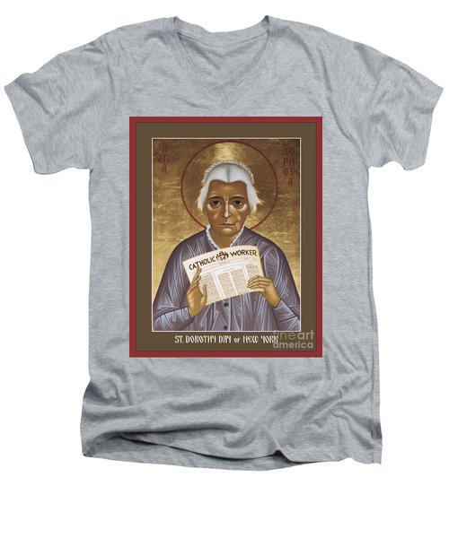 Dorothy Day Of New York - Rldrd Men's V-Neck T-Shirt