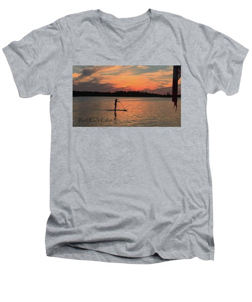 Doug Hobson, Red Rock Lake Men's V-Neck T-Shirt