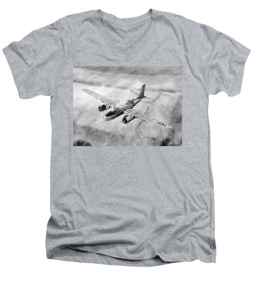 Douglas A-26 Invader Men's V-Neck T-Shirt