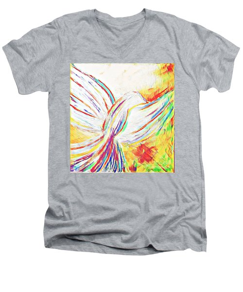 Holy Spirit Men's V-Neck T-Shirt
