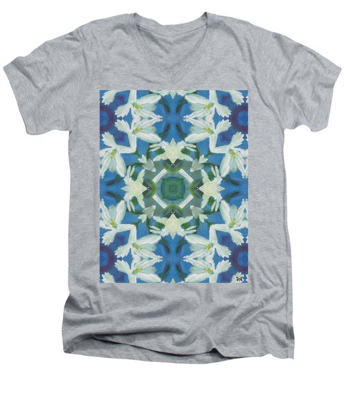 Doves Of Peace Men's V-Neck T-Shirt