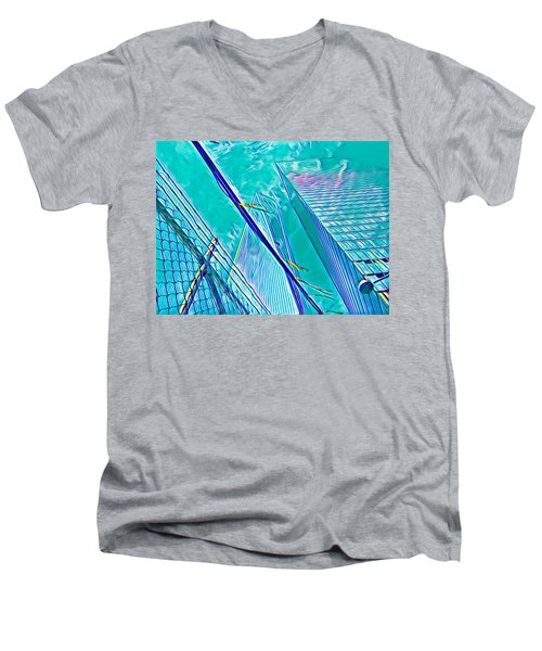 Down By The Water Men's V-Neck T-Shirt