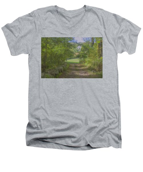 Down From The Mansion Men's V-Neck T-Shirt