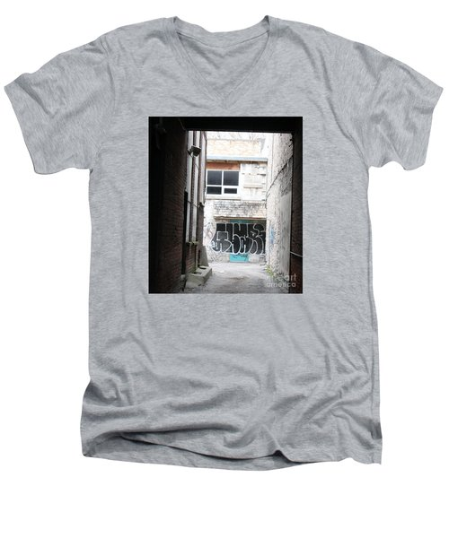 Down In The Alley Men's V-Neck T-Shirt