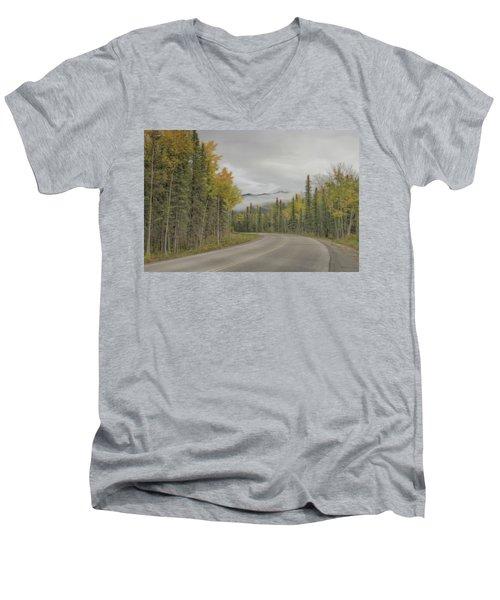 Down The Road  Men's V-Neck T-Shirt