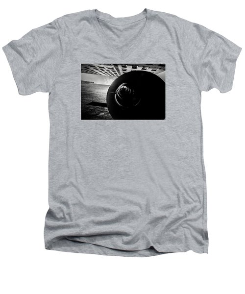 Down Up  Men's V-Neck T-Shirt