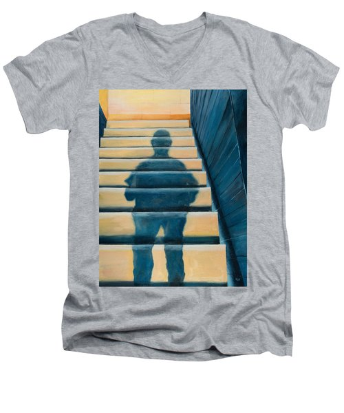 Downstairs Men's V-Neck T-Shirt