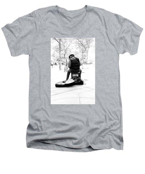 Downtown Andrew Men's V-Neck T-Shirt