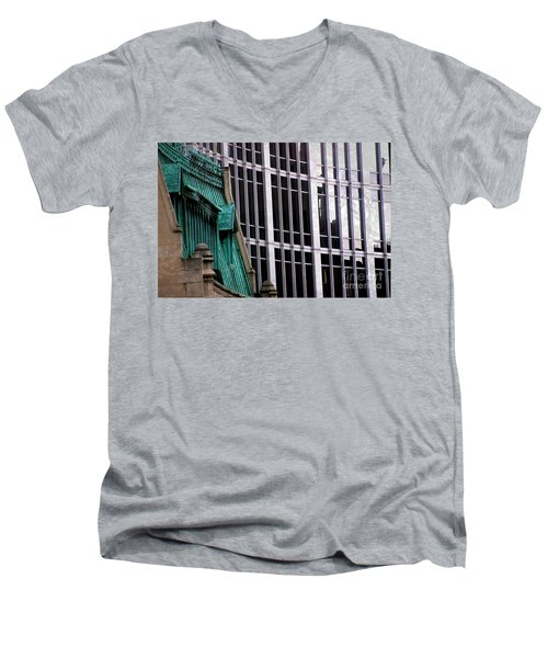 Downtown Indy Men's V-Neck T-Shirt