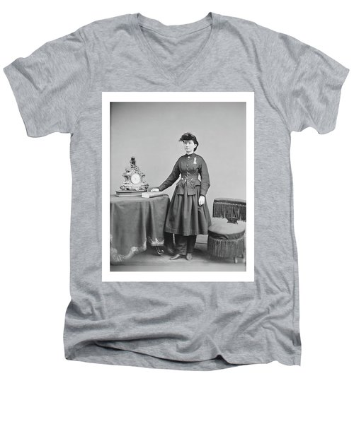 Dr. Mary Walker Men's V-Neck T-Shirt