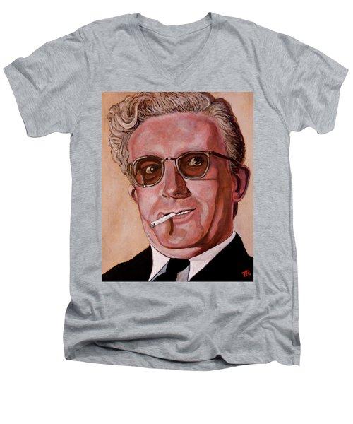 Dr Strangelove 2 Men's V-Neck T-Shirt by Tom Roderick