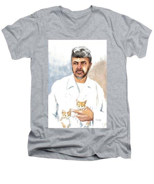 Dr Yoossef Men's V-Neck T-Shirt