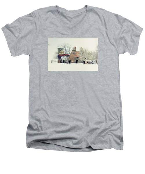 Drafty Old Barn Men's V-Neck T-Shirt