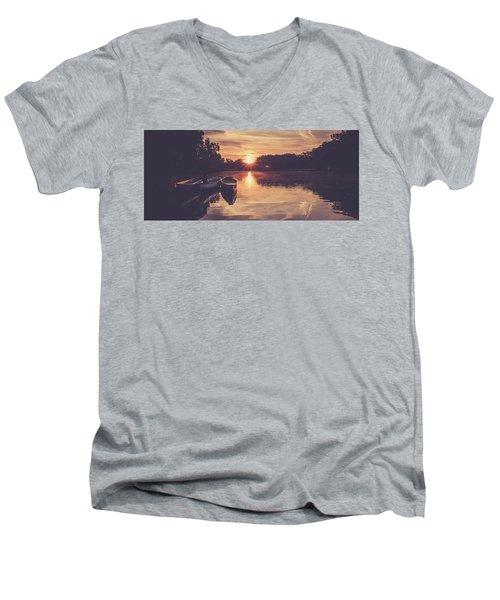 Dragon Boats Men's V-Neck T-Shirt