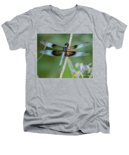 Dragonfly 12 Men's V-Neck T-Shirt