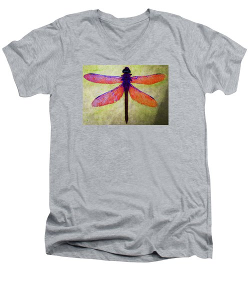 Dragonfly 7 Men's V-Neck T-Shirt