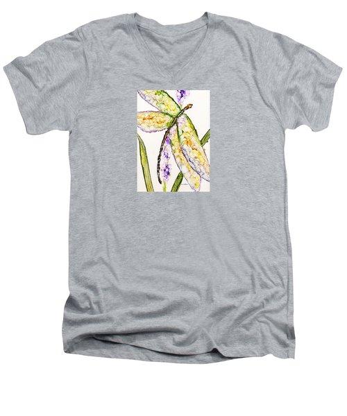 Dragonfly Dreams Men's V-Neck T-Shirt