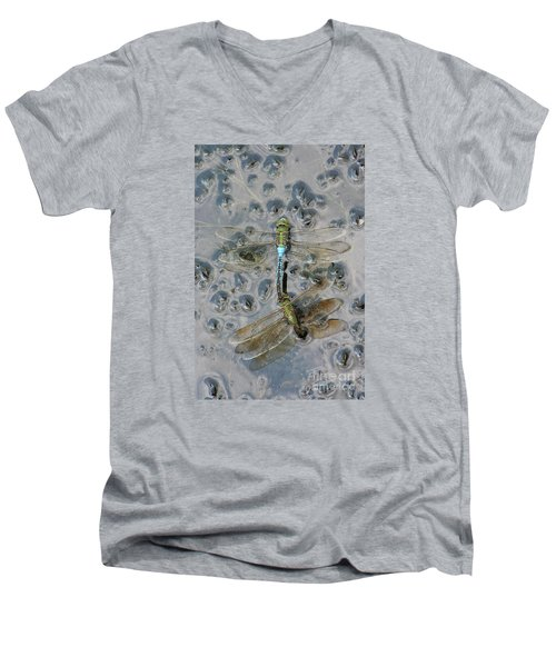 Dragonfly Reflections Men's V-Neck T-Shirt